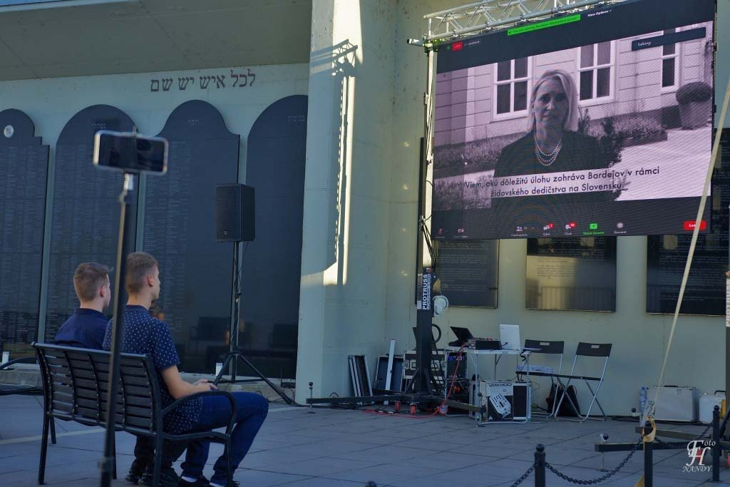 H.E. Brigitte A. Brink – US Ambassador in Slovakia recorded a message for the event